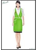 绿色围裙款式