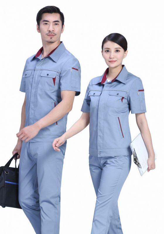 常见的工作服款式结构造型设计
