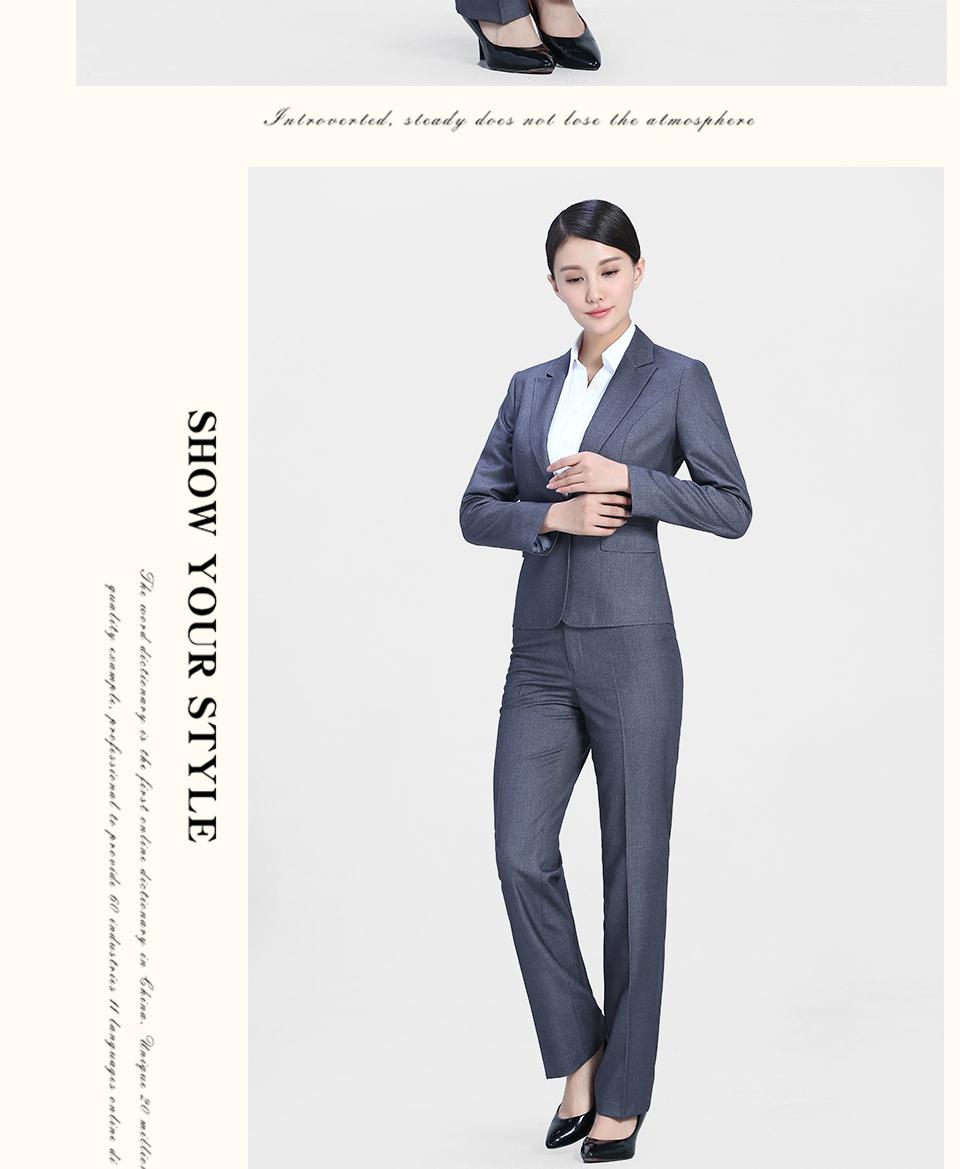 中灰1女士西裤